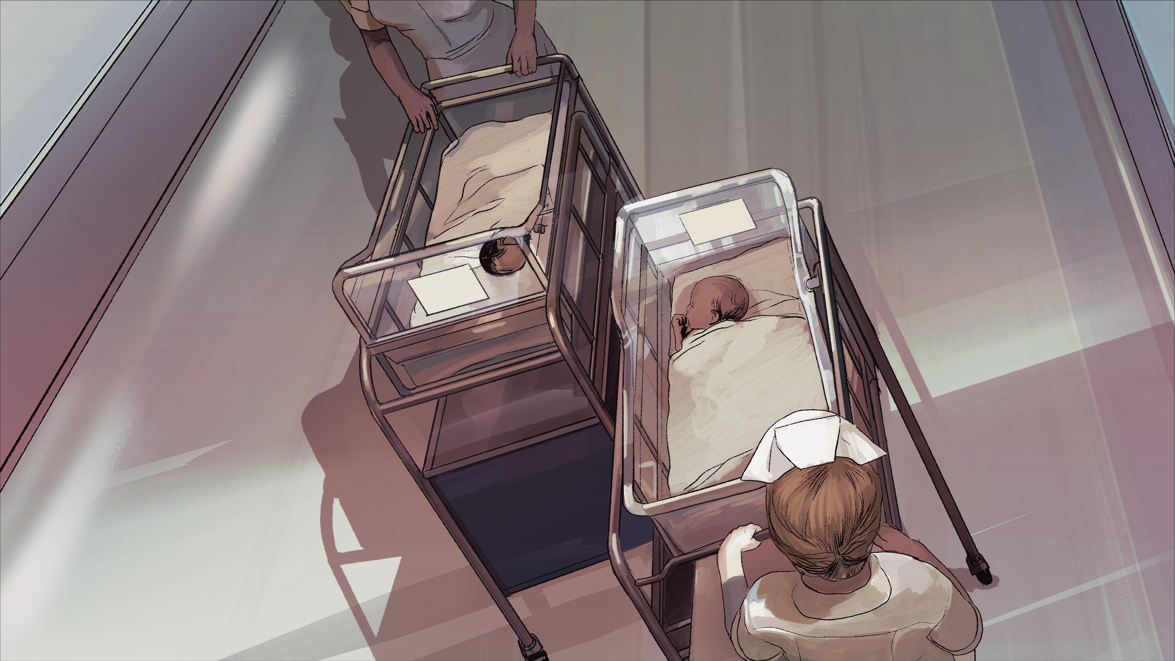 at birth